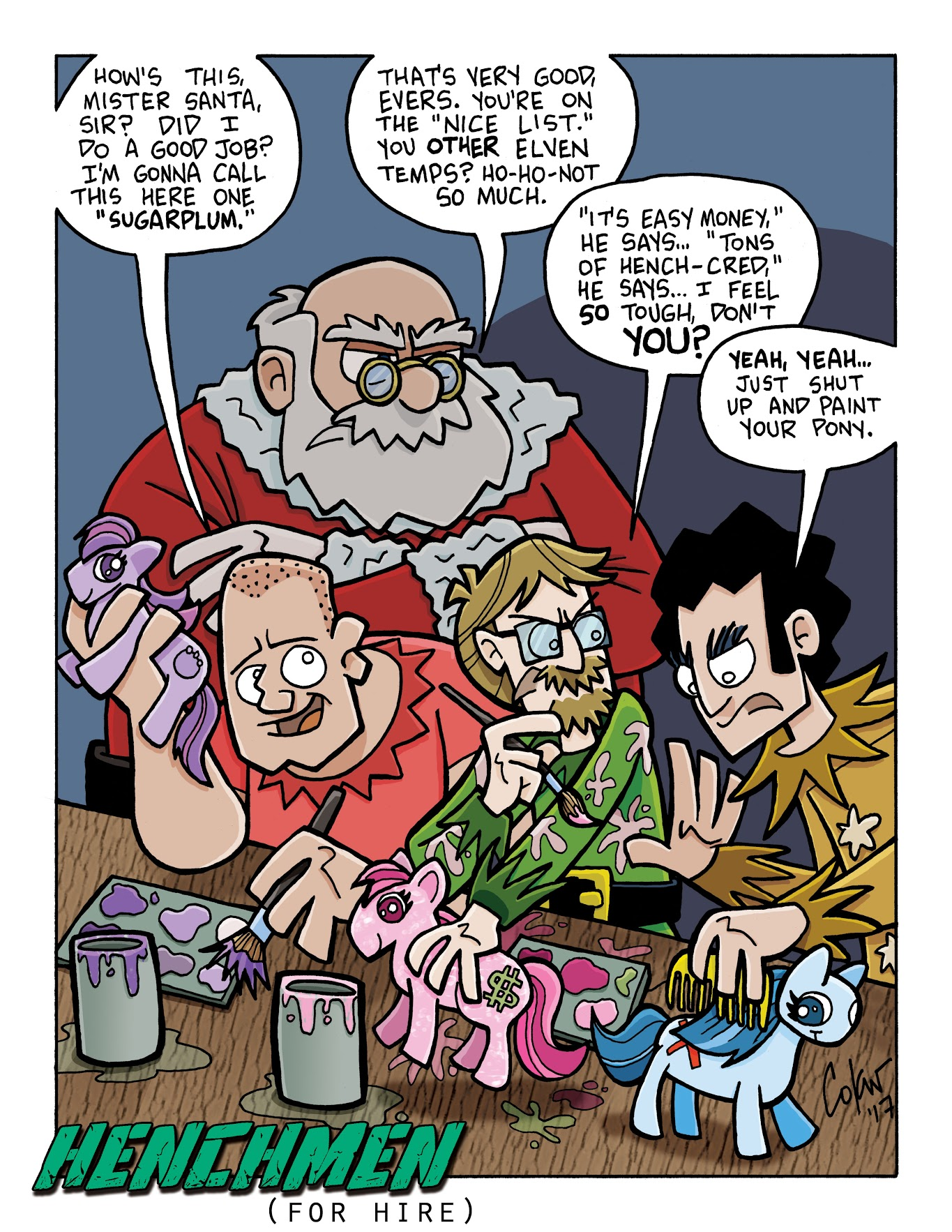 Secret Santa 2017 – A Special Holiday Henchmen Comic